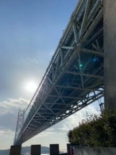 「明石海峡大橋」の写真