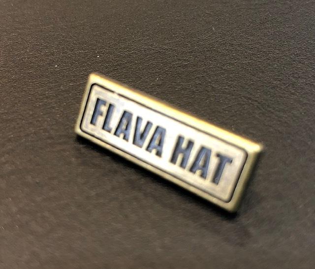 FLAVAブランドバッチの写真
