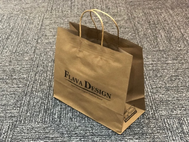 FLAVA DESIGN紙袋(小)の写真