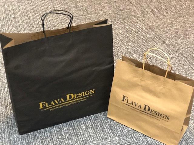FLAVA DESIGN紙袋(大)の写真